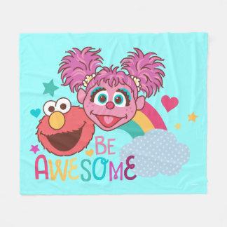 Manta Polar El Sesame Street el | Elmo y Abby - sea