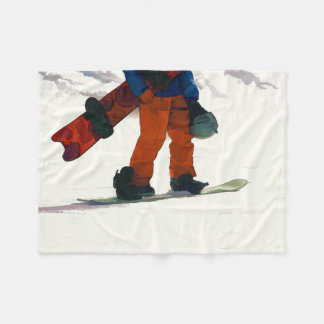 """Manta Polar El Snowboarder """"alista a los deportes de invierno"""