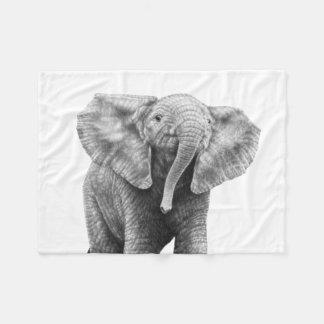 Manta Polar Elefante del bebé