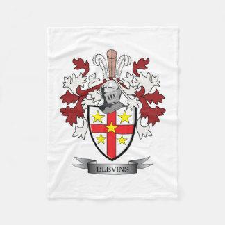 Manta Polar Escudo de armas del escudo de la familia de