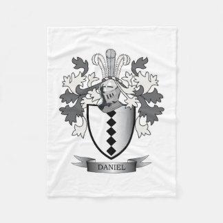 Manta Polar Escudo de armas del escudo de la familia de Daniel