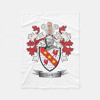 Manta Polar Escudo de armas del escudo de la familia de la ley