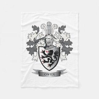 Manta Polar Escudo de armas del escudo de la familia de Owen