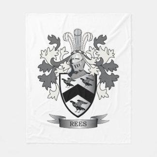 Manta Polar Escudo de armas del escudo de la familia de Rees