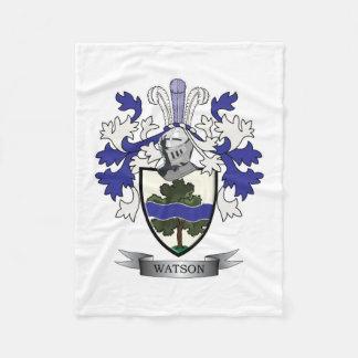 Manta Polar Escudo de armas del escudo de la familia de Watson