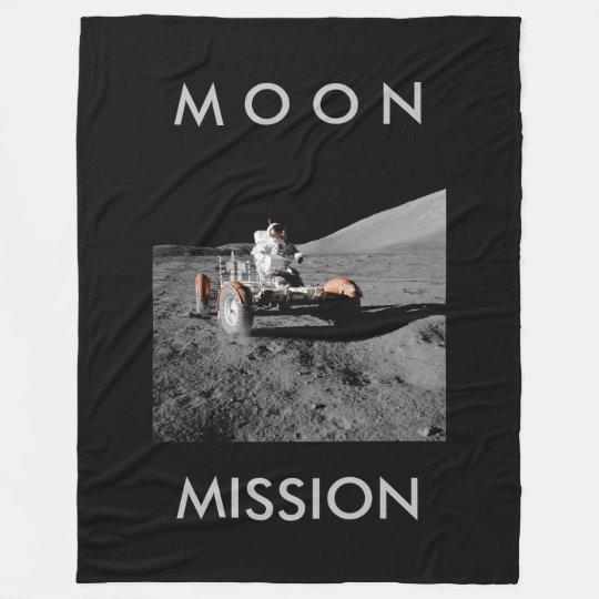 Manta Polar espacio del cochecillo del astronauta de la misión