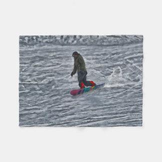 Manta Polar Esquinas del corte - Snowboarder