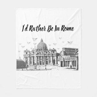 Manta Polar Estaría bastante en Roma
