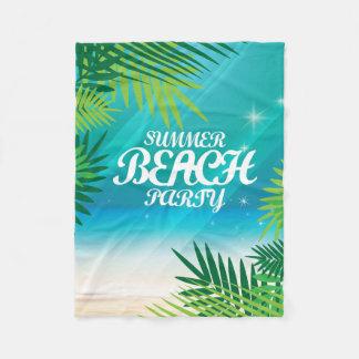 Manta Polar Fiesta de la playa del verano