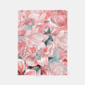 Manta Polar flowers2bflowers y #flowers del modelo de los