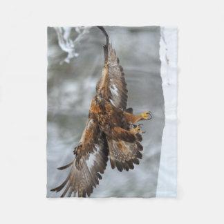 Manta Polar Foto de Eagle de oro