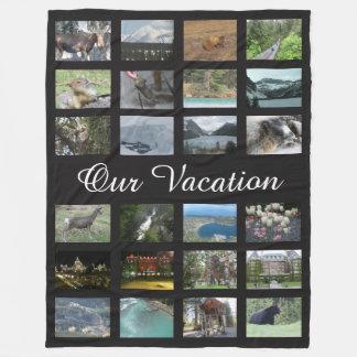Manta Polar Foto personalizada de las vacaciones