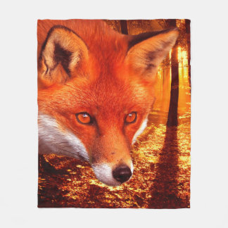 Manta Polar Fox rojo