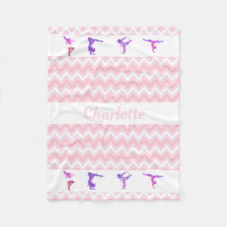 Manta Polar Galones rosados conocidos personalizados chicas de
