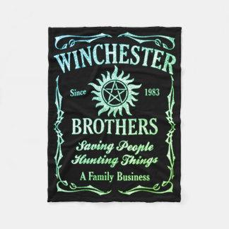 Manta Polar Hermanos de Winchester desde 1983 (Leafgreen)