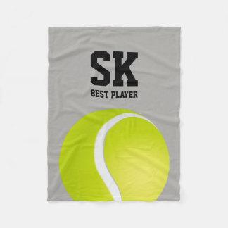 Manta Polar Jugador personalizado del tenis del | mejor