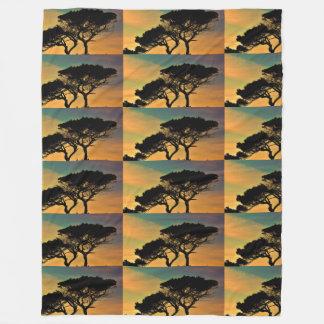 Manta Polar La caída de la naturaleza de los árboles ajardina