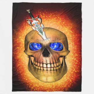 Manta Polar La espada perforó el cráneo