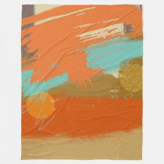 Manta Polar La pintura abstracta del arte del paisaje circunda