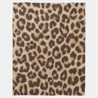Manta Polar Leopardo