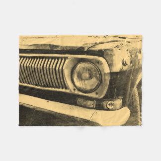 Manta Polar Linterna clásica vieja del coche del vintage