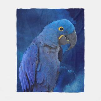 Manta Polar Macaw del jacinto