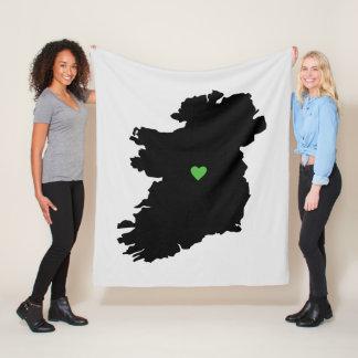 Manta Polar Mapa del orgullo del irlandés de Irlanda