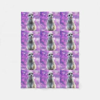 Manta Polar Meerkat con la chispa,