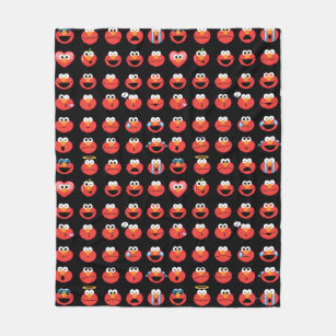 Manta Polar Modelo de Elmo Emoji