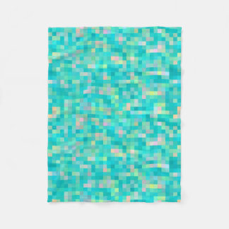 Manta Polar Modelo multicolor del arte del pixel