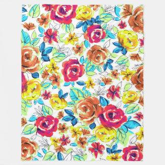 Manta Polar Modelos coloridos lindos de los rosas del vintage