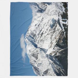 Manta Polar Mt. Blanc con las nubes
