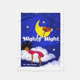 Manta Polar Noche del camisón