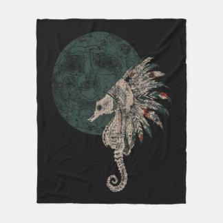 Manta Polar noche del natural del seahorse