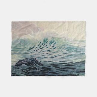 Manta Polar Olas oceánicas apacibles