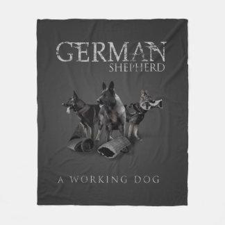 Manta Polar Perro de pastor alemán de trabajo - GSD