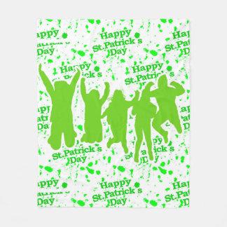 Manta Polar Poster del fiesta del día del St Patricks