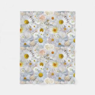 Manta Polar Primavera nupcial del boda floral del ramo de las