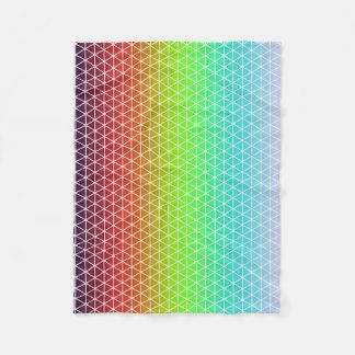 Manta Polar Tessellation geométrico del marco del arco iris