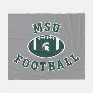 Manta Polar Universidad de estado del fútbol el | Michigan de