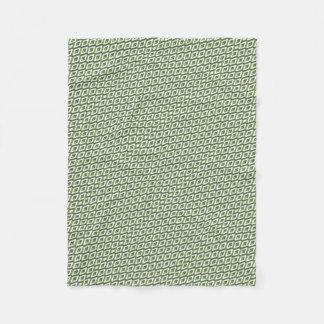 Manta Polar verdor y col rizada de la geometría 3d