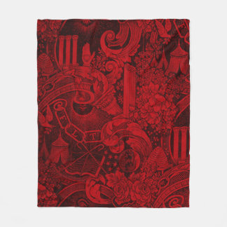 Manta Polar Versión tejida 2 de la tapicería de las personas