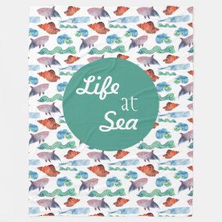 Manta Polar Vida en el mar