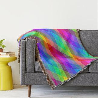 Manta Prismas espectrales del arco iris colorido