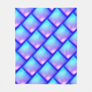Manta púrpura y azul del diamante mágico - del
