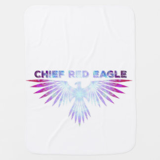 Manta roja del bebé de Eagle