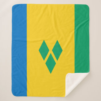Manta Sherpa Bandera de San Vicente y las Granadinas
