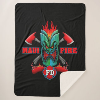 Manta Sherpa Cuerpo de bomberos de Maui