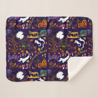 Manta Sherpa Halloween del Dachshund de la diva