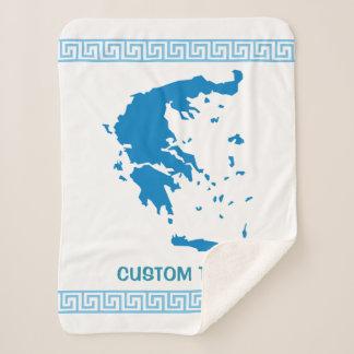 Manta Sherpa Mapa de Grecia